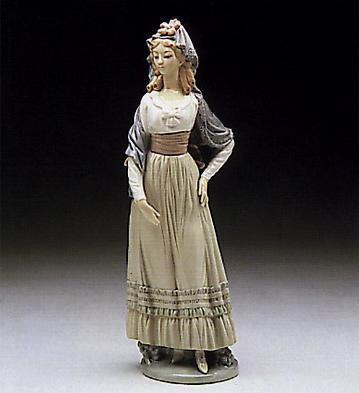 Goya Lady Lladro Figurine