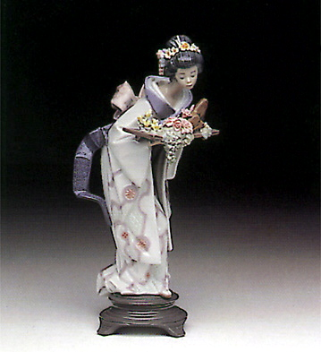 Graceful Offering Lladro Figurine