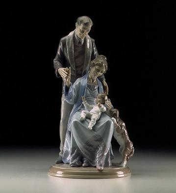 Grandparents' Joy Lladro Figurine