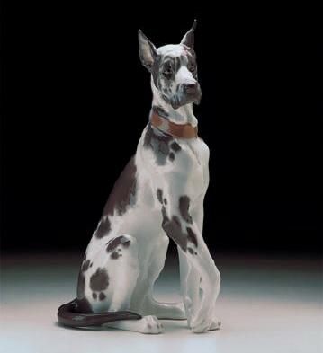 Great Dane Lladro Figurine