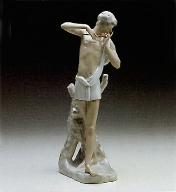 Greek Shepherd Lladro Figurine