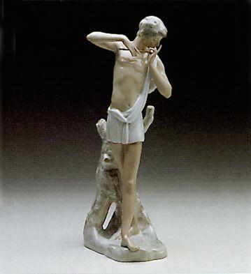 Greek Shepherd Lladro Figurine