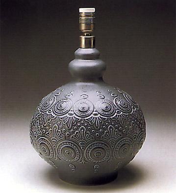 Grey Full Moon Lamp Lladro Figurine
