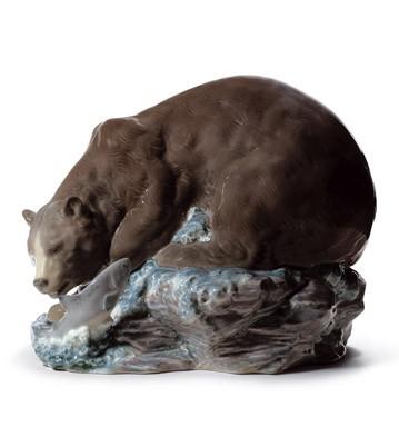 Grizzly Bear Lladro Figurine