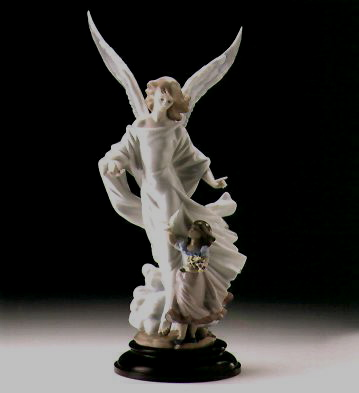 Guardian Angel (l.e.) (b) Lladro Figurine
