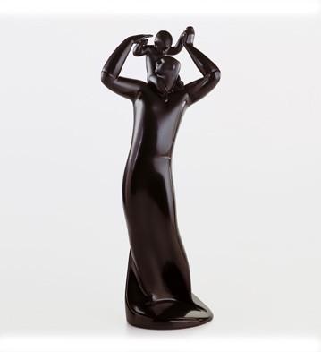 Guide (ebony Look) Lladro Figurine
