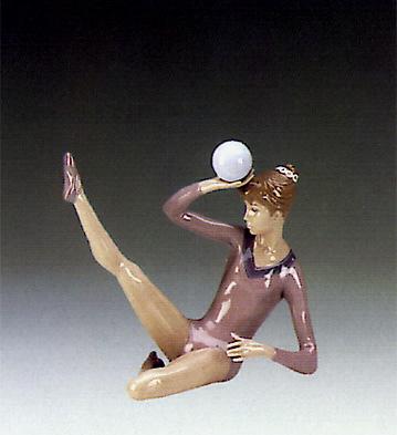 Gymnast Balancing Ball Lladro Figurine