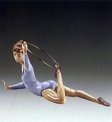 Gymnast W\ring Lladro Figurine