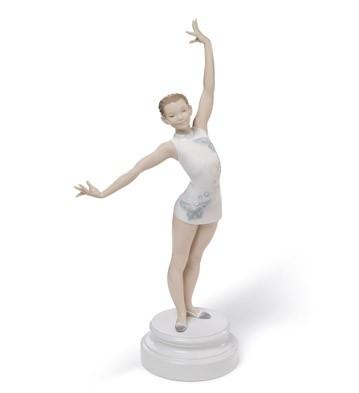 Gymnast Lladro Figurine