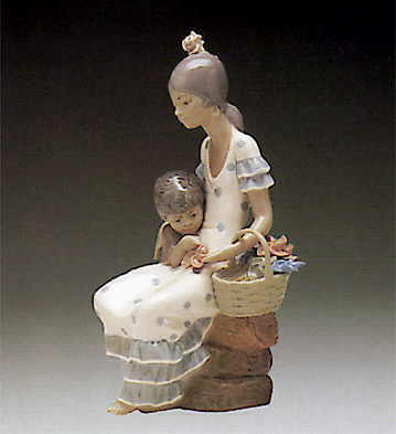 Gypsies Lladro Figurine