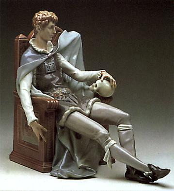 Hamlet & Yorick Lladro Figurine