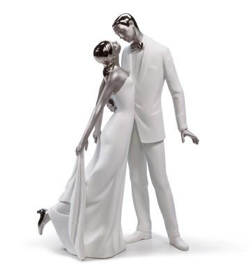 Happy Anniversary (re-deco) Lladro Figurine