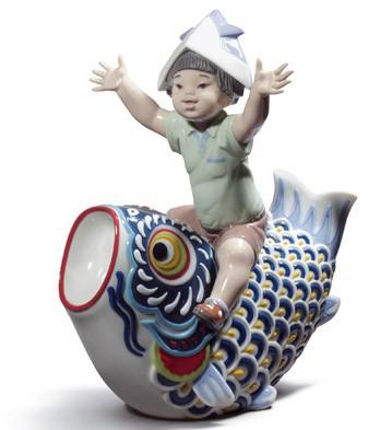Happy Boy's Day Lladro Figurine
