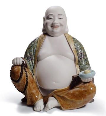 Happy Buddha Lladro Figurine
