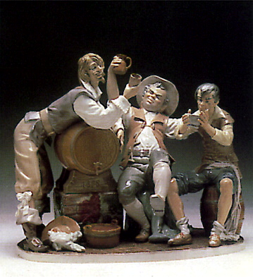 Happy Drinkers Lladro Figurine