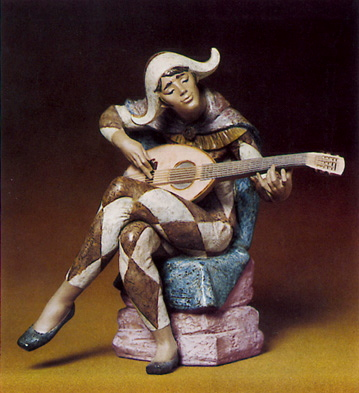 Happy Harlequin Lladro Figurine