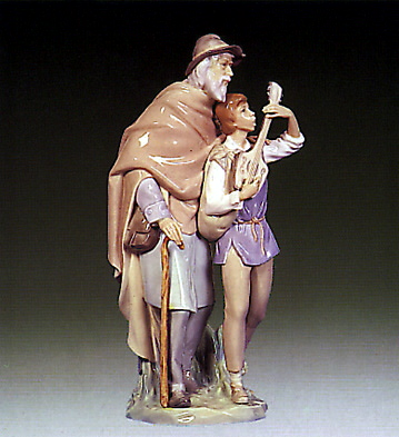 Happy Travelers Lladro Figurine