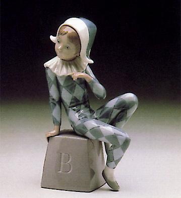 Harlequin-b Lladro Figurine