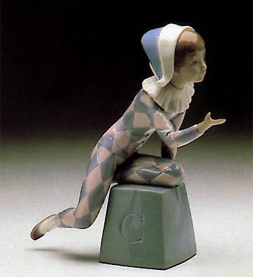 Harlequin C Lladro Figurine