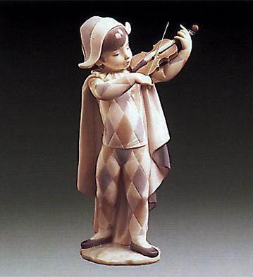 Harlequin Serenade Lladro Figurine