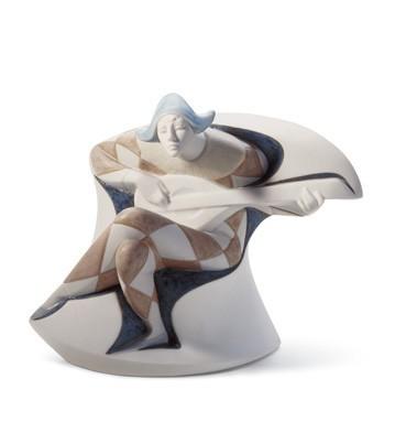 Harlequin Lladro Figurine
