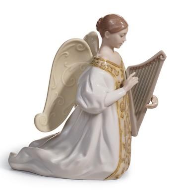 Harp - Cantata Lladro Figurine