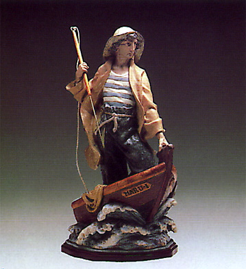 Harpooner (b) Lladro Figurine