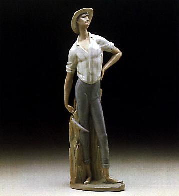 Harvester Man Lladro Figurine