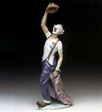 Hats Off To Fun Lladro Figurine