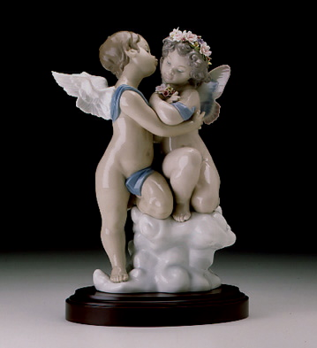 Heaven And Earth L.e.b. Lladro Figurine