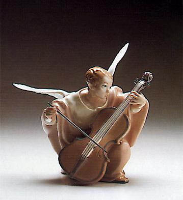 Heavenly Cellist Lladro Figurine