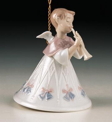 Heavenly Flutist Lladro Figurine