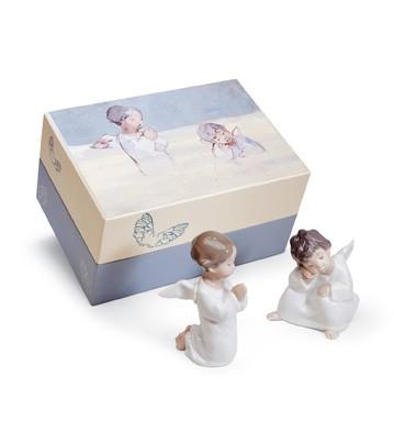 Heavenly Friends Lladro Figurine