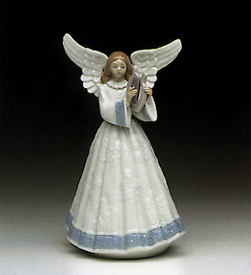 Heavenly Harpist Lladro Figurine