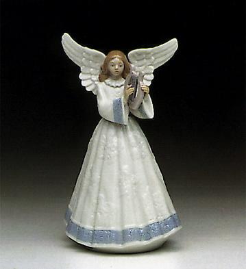 Heavenly Harpist Lladro Figurine