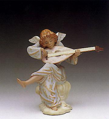 Heavenly Sounds Lladro Figurine
