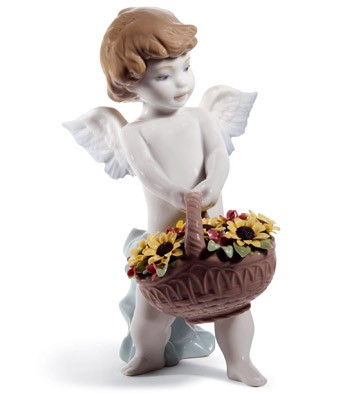 Heaven's Harvest (60th Anniversary) Lladro Figurine