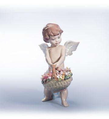 Heaven's Harvest Lladro Figurine