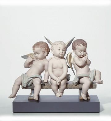 Heaven's Playground Lladro Figurine
