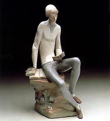 Hebrew Student Lladro Figurine