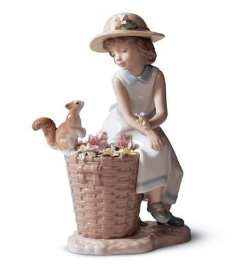 Hello, Little Squirrel! Lladro Figurine