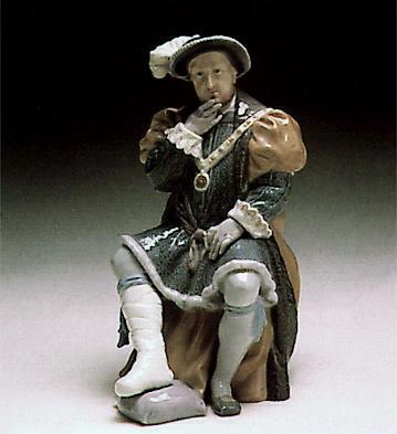 Henry Viii (l.e.) Lladro Figurine