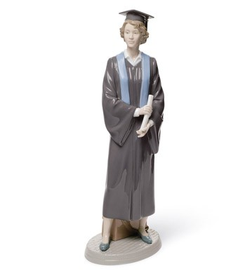 Her Commencement Lladro Figurine