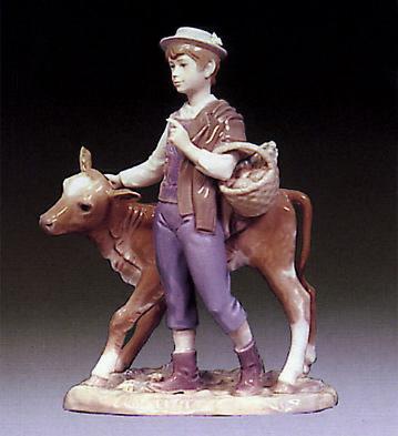 Herdsman Lladro Figurine