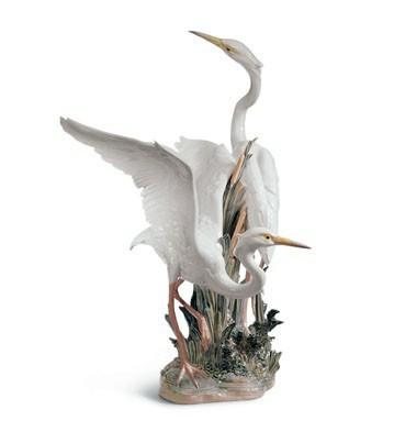 Herons Lladro Figurine