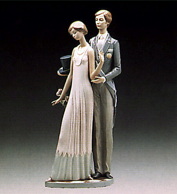 High Society Lladro Figurine