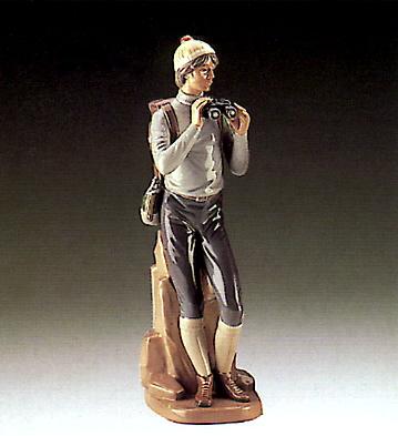 Hiker Lladro Figurine