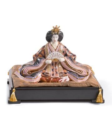 Hina Dolls - Empress Lladro Figurine