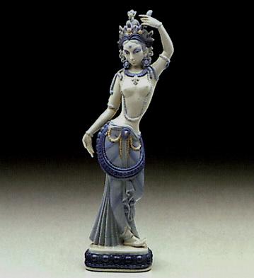 Hindu Ballerina Lladro Figurine