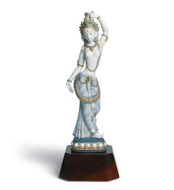 Hindu Dancer Lladro Figurine